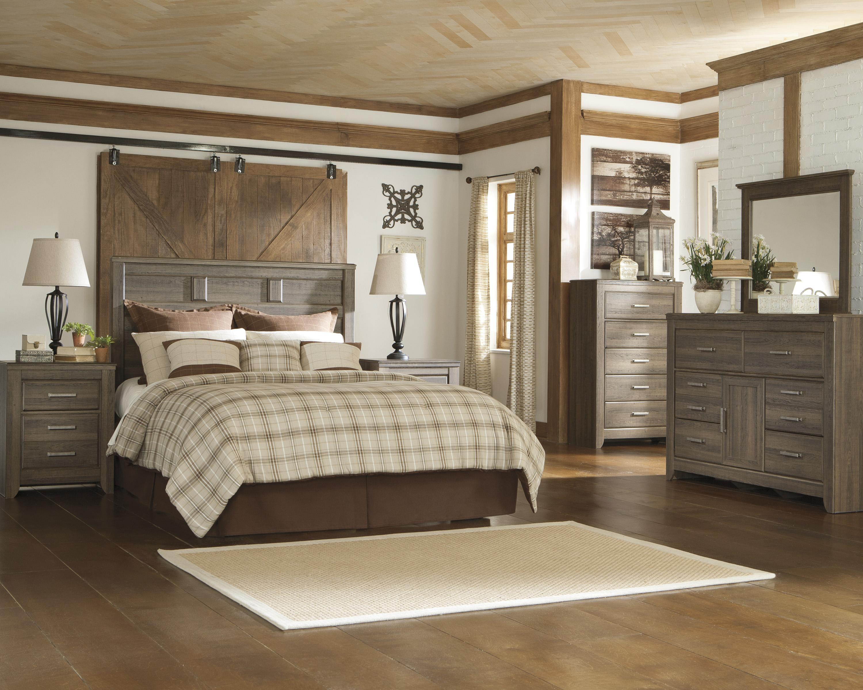 Signature design by ashley juararo queen bedroom group for Signature bedroom furniture