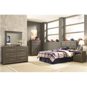 Signature Design By Ashley Juararo Transitional King Poster Bed Wayside Furniture Poster Beds