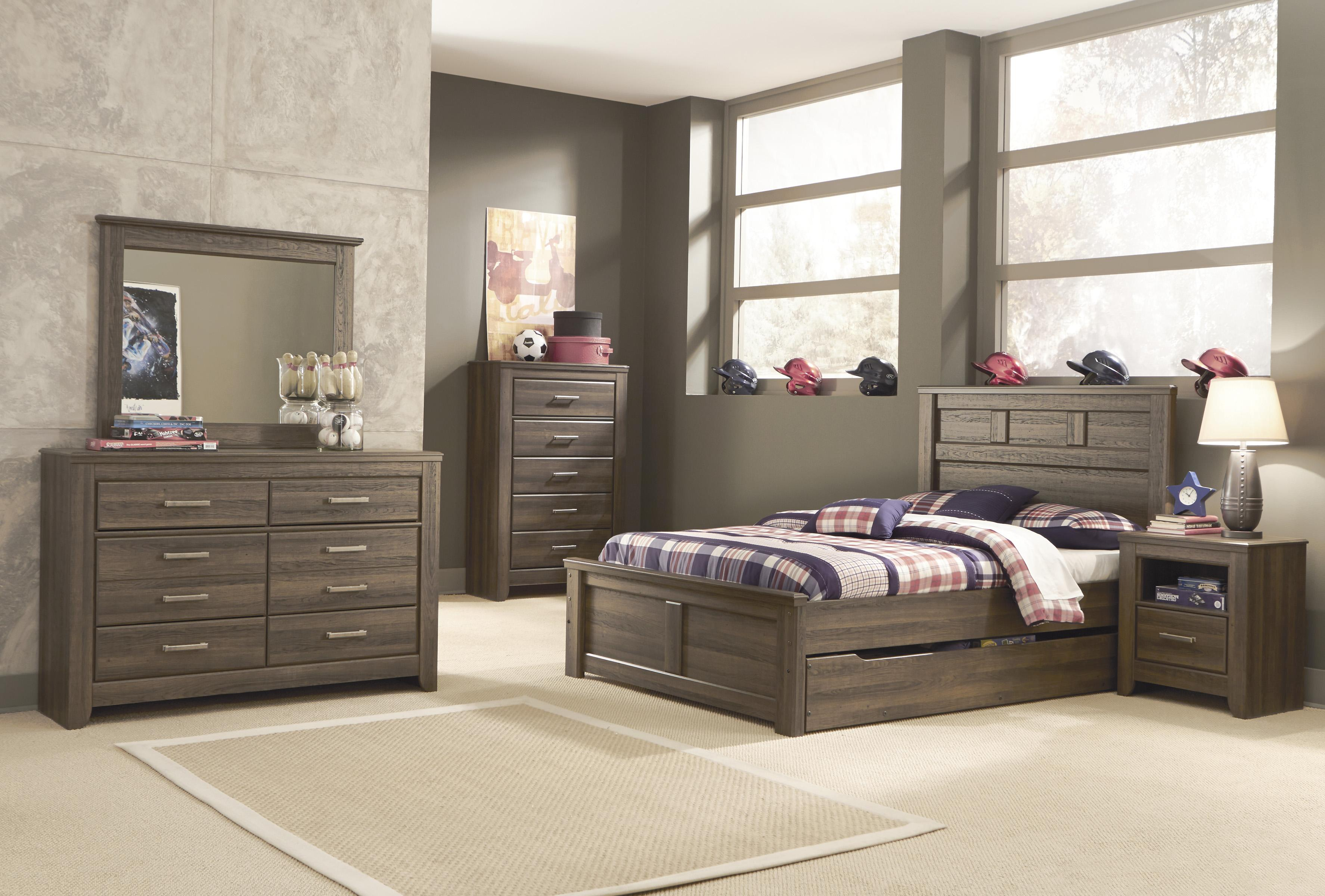 Signature design by ashley juararo full bedroom group for Signature bedroom furniture