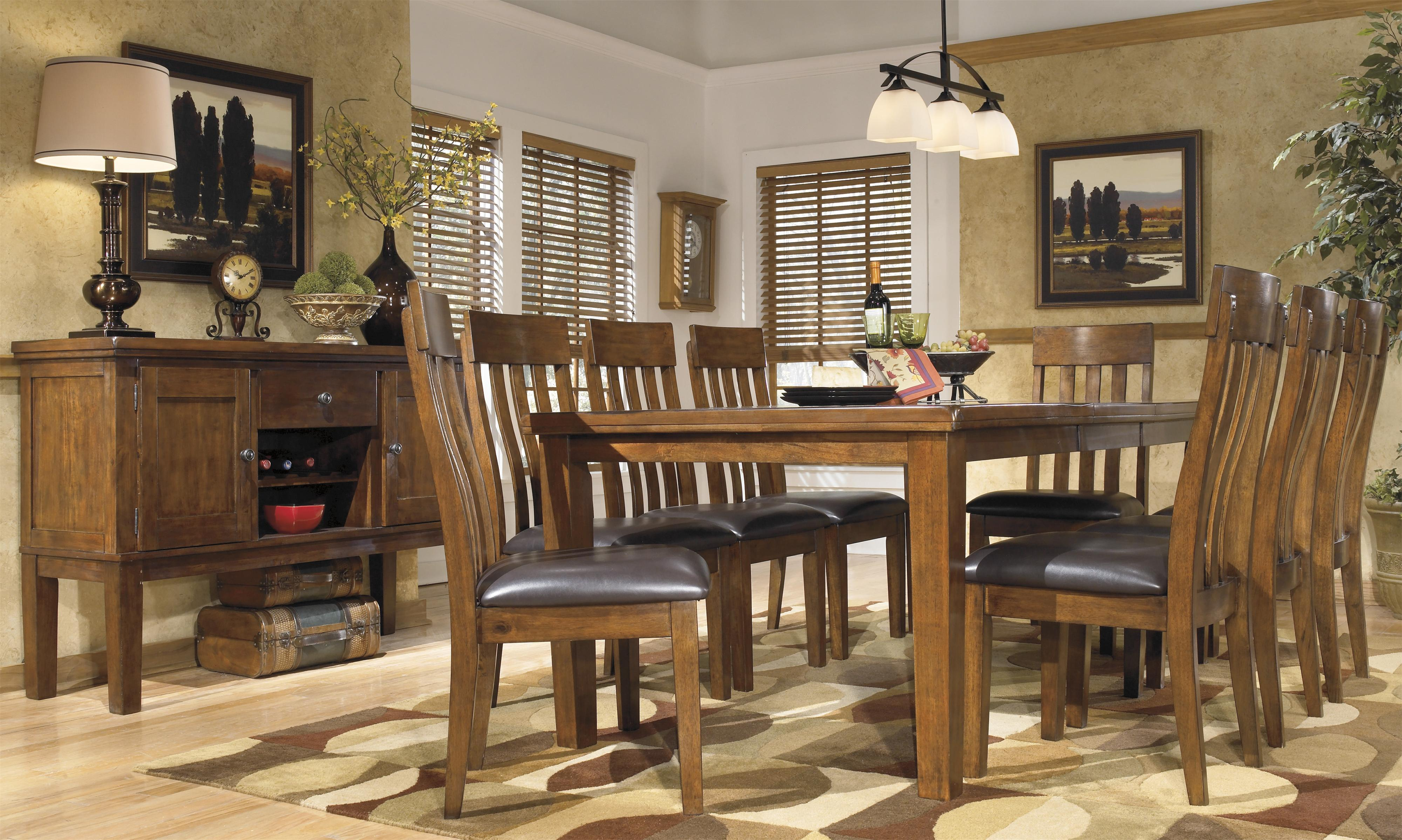 Signature Design By Ashley Ralene Casual Dining Room Group Olinde 39 S Fur