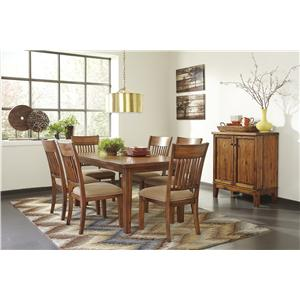 dining room group john v schultz furniture casual dining room