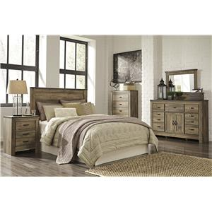 Signature Design By Ashley Trinell Rustic Look Twin Panel
