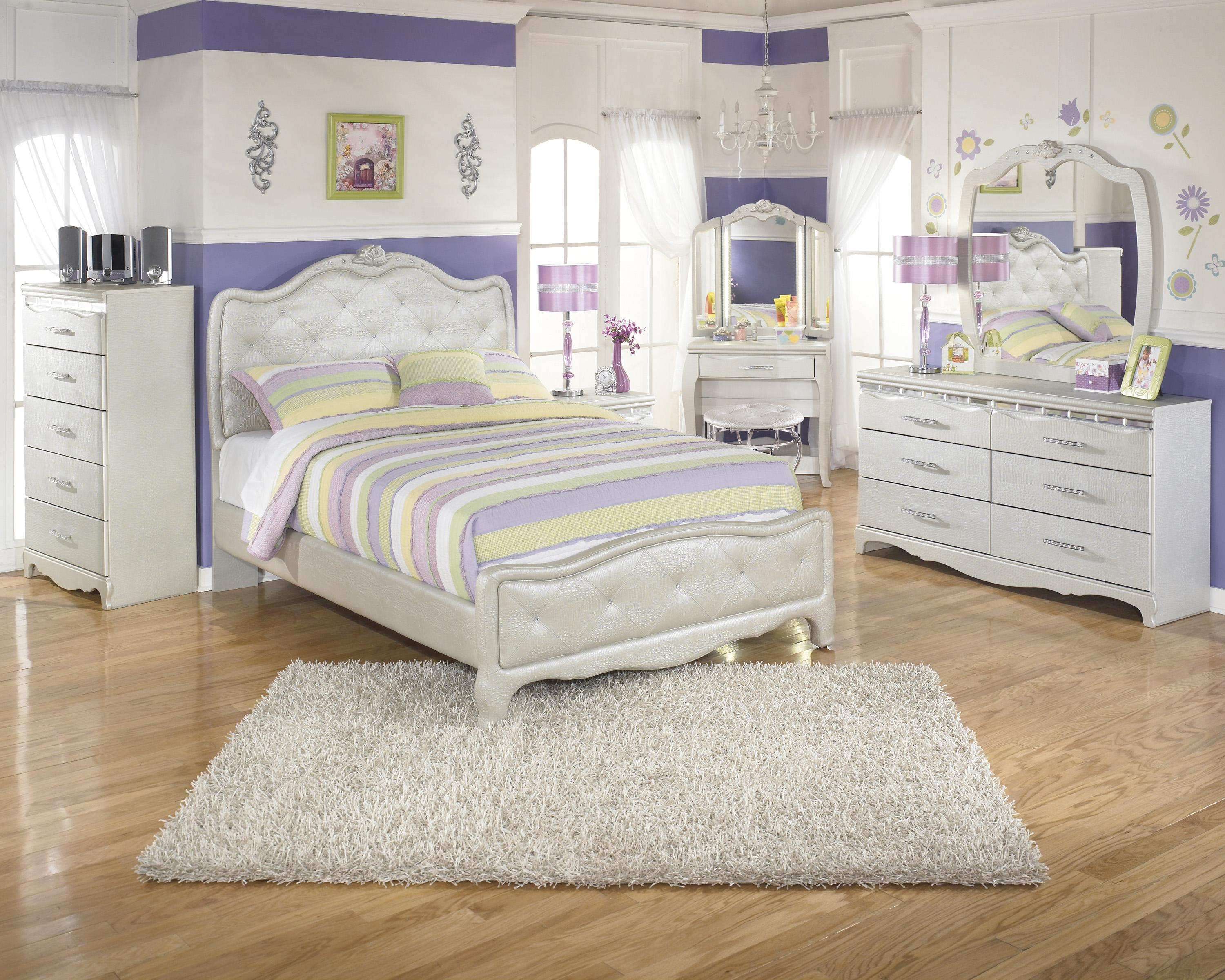 signature design by ashley zarollina full bedroom group