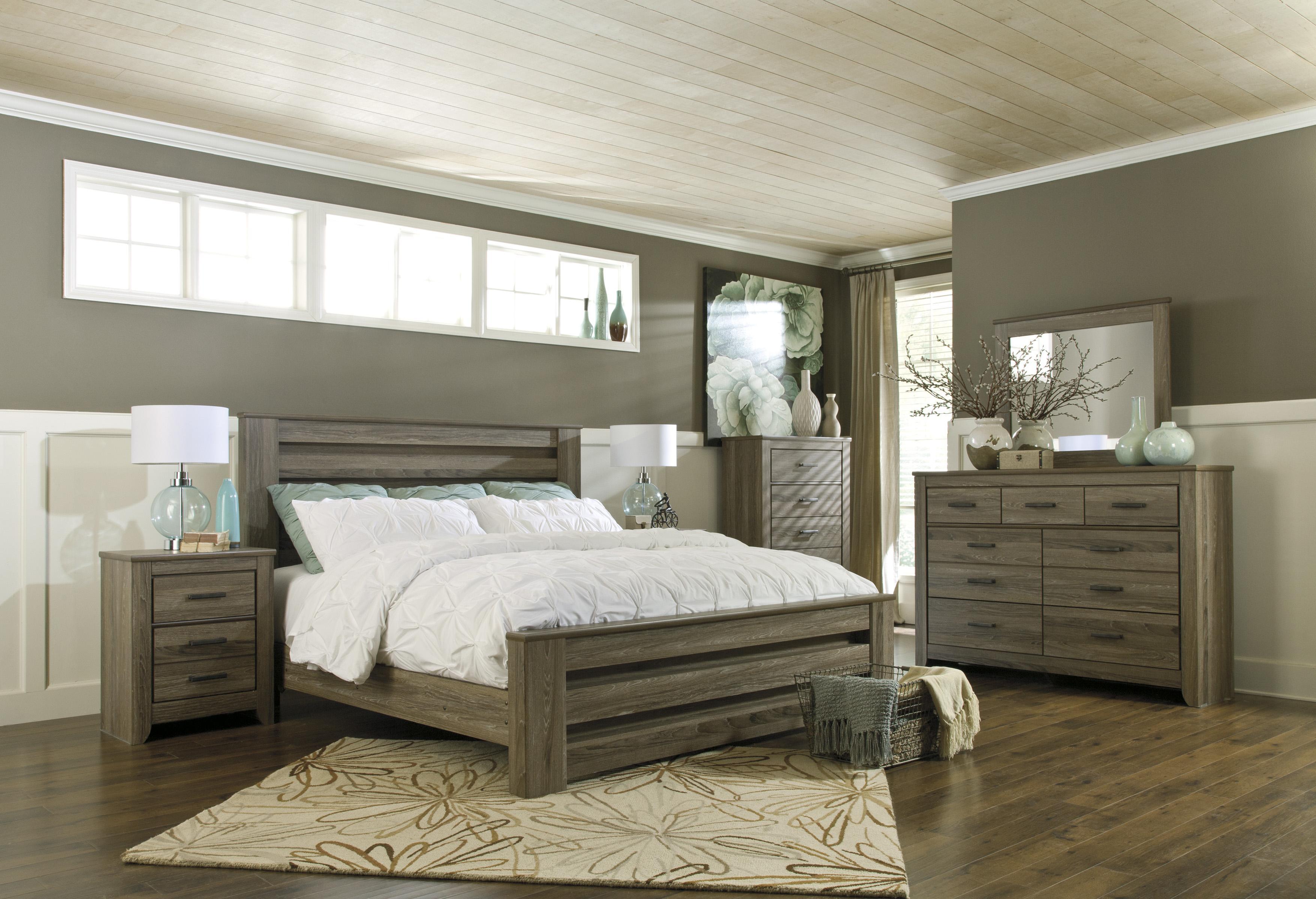 Signature Design By Ashley Zelen King Bedroom Group Del Sol Furniture Bedroom Group