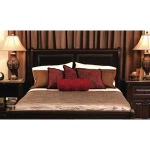 Simply Amish Imperial Amish King Three Panel Bed Becker Furniture World H