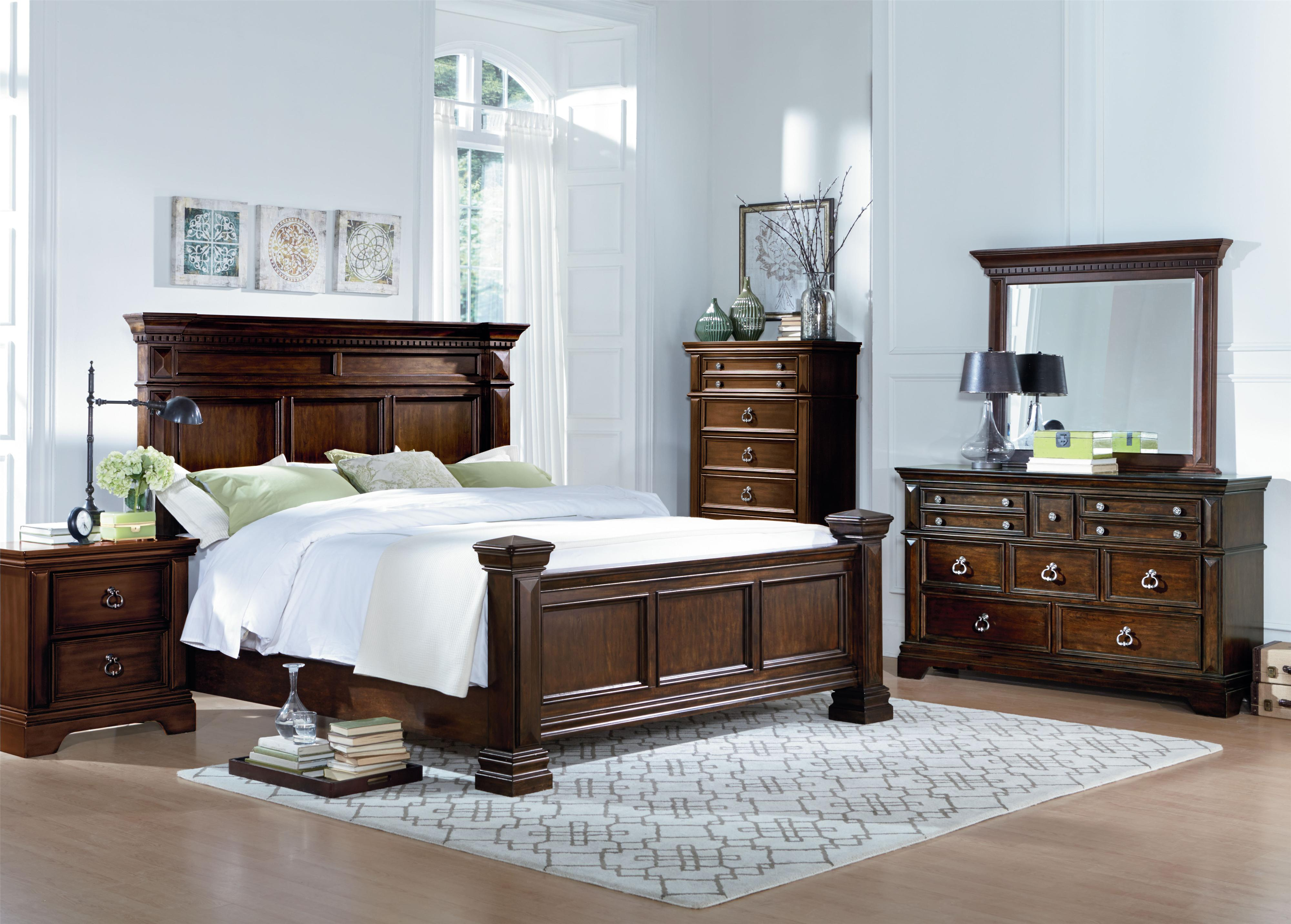 Standard Furniture Charleston Queen Bedroom Group Household Furniture Bedroom Groups