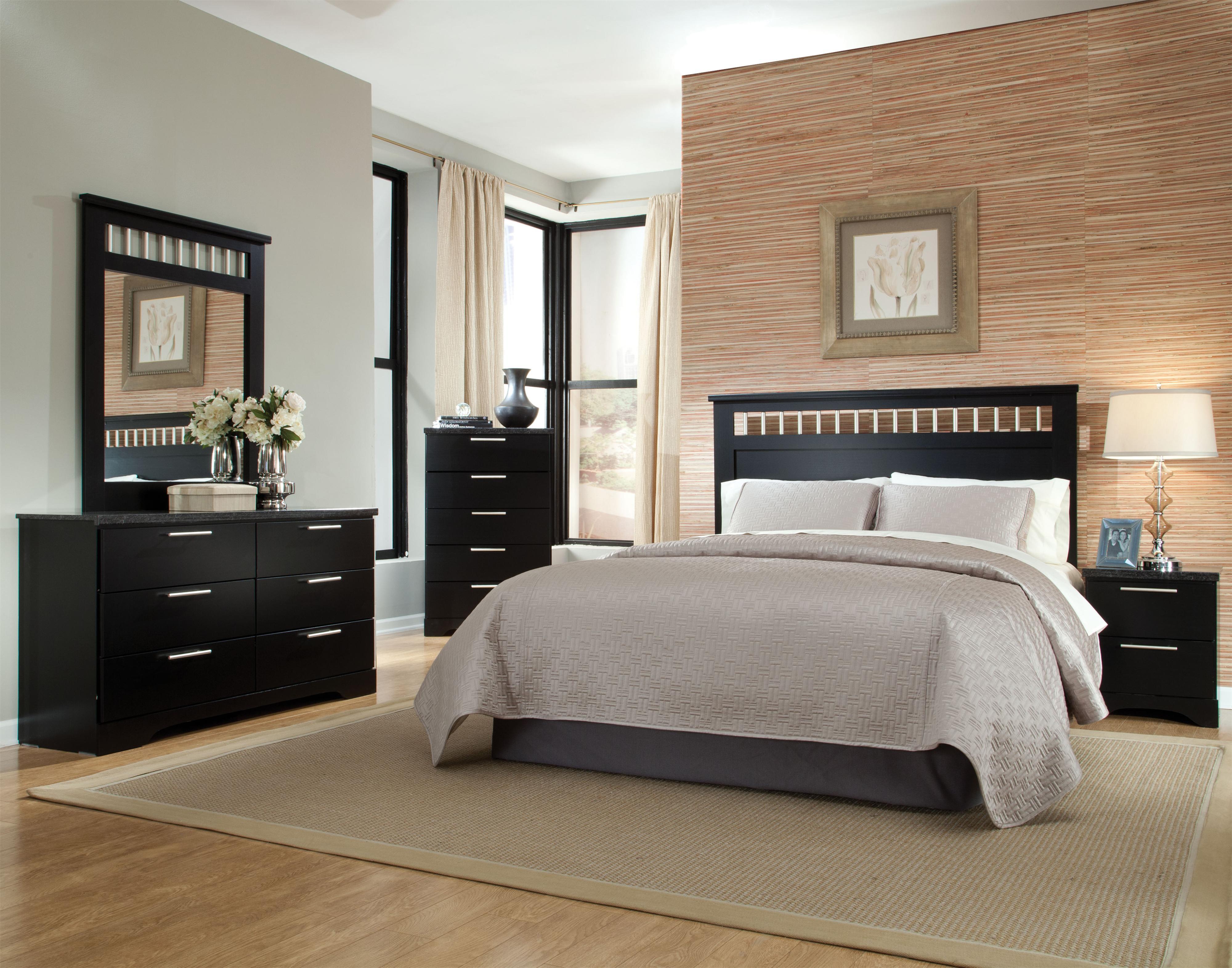 Standard furniture atlanta full queen bedroom group dunk bright furniture bedroom groups for Standard furniture metro bedroom collection