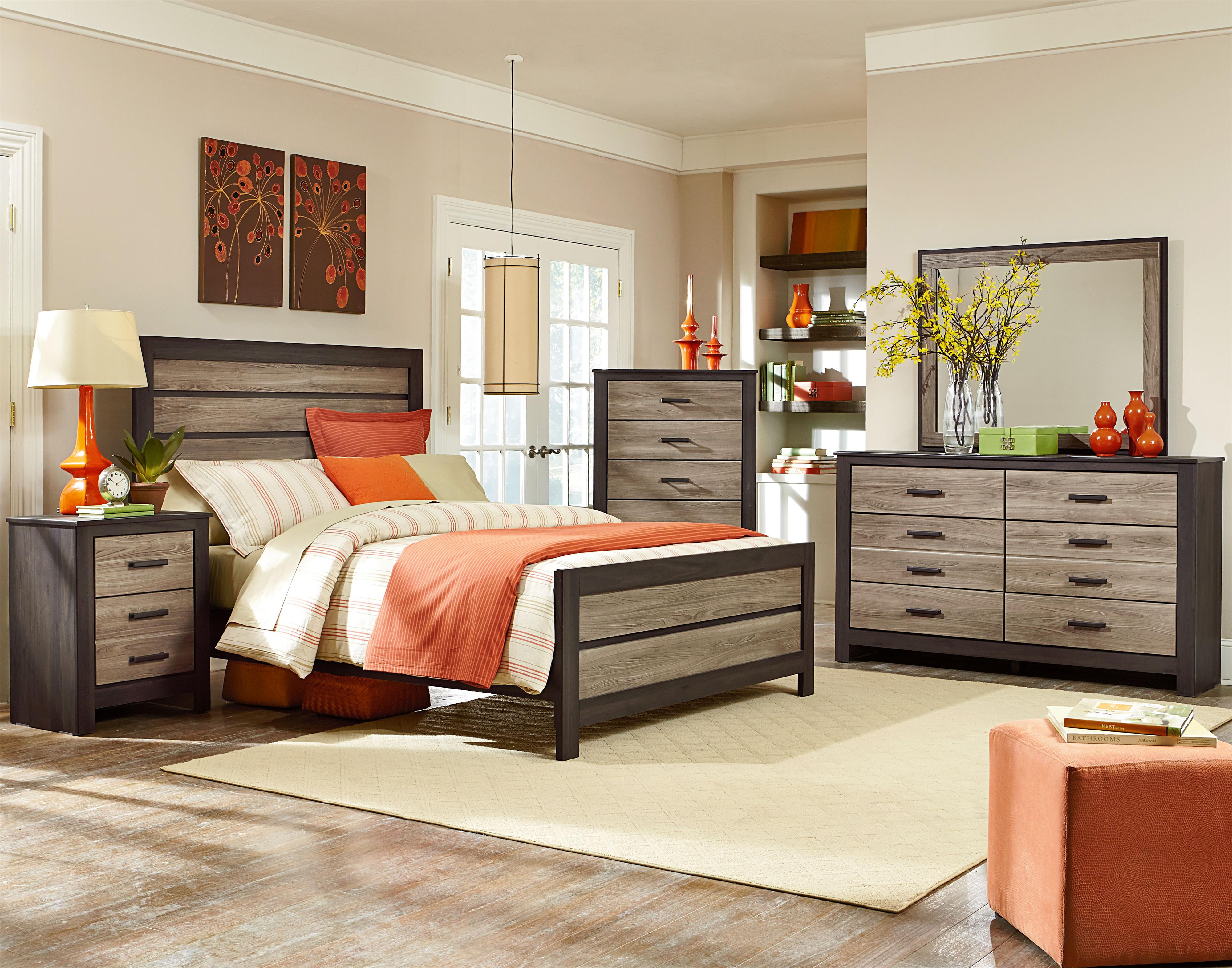 Freemont King Bedroom Group By Standard Furniture Wolf Furniture