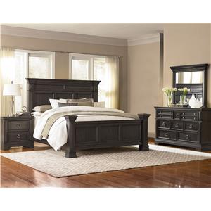 Standard furniture garrison queen bedroom group standard furniture bedroom groups birmingham for Bedroom furniture huntsville al