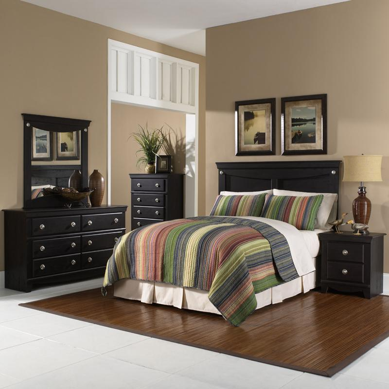 Standard furniture carlsbad full queen bedroom group for Bedroom furniture groups