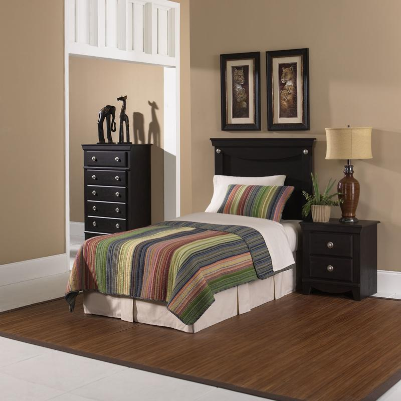 Standard furniture carlsbad twin bedroom group olinde 39 s for Bedroom furniture groups