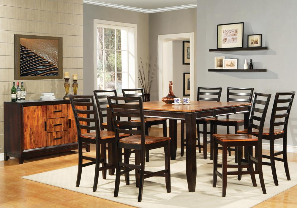Steve silver abaco casual dining room group miller for Casual dining room chairs