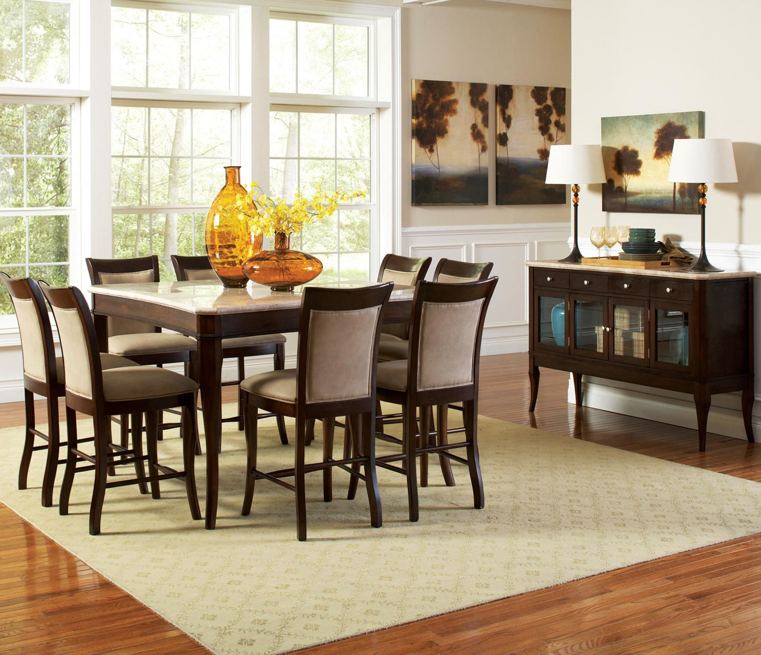 Steve silver marseille casual dining room group royal for Casual dining room photos
