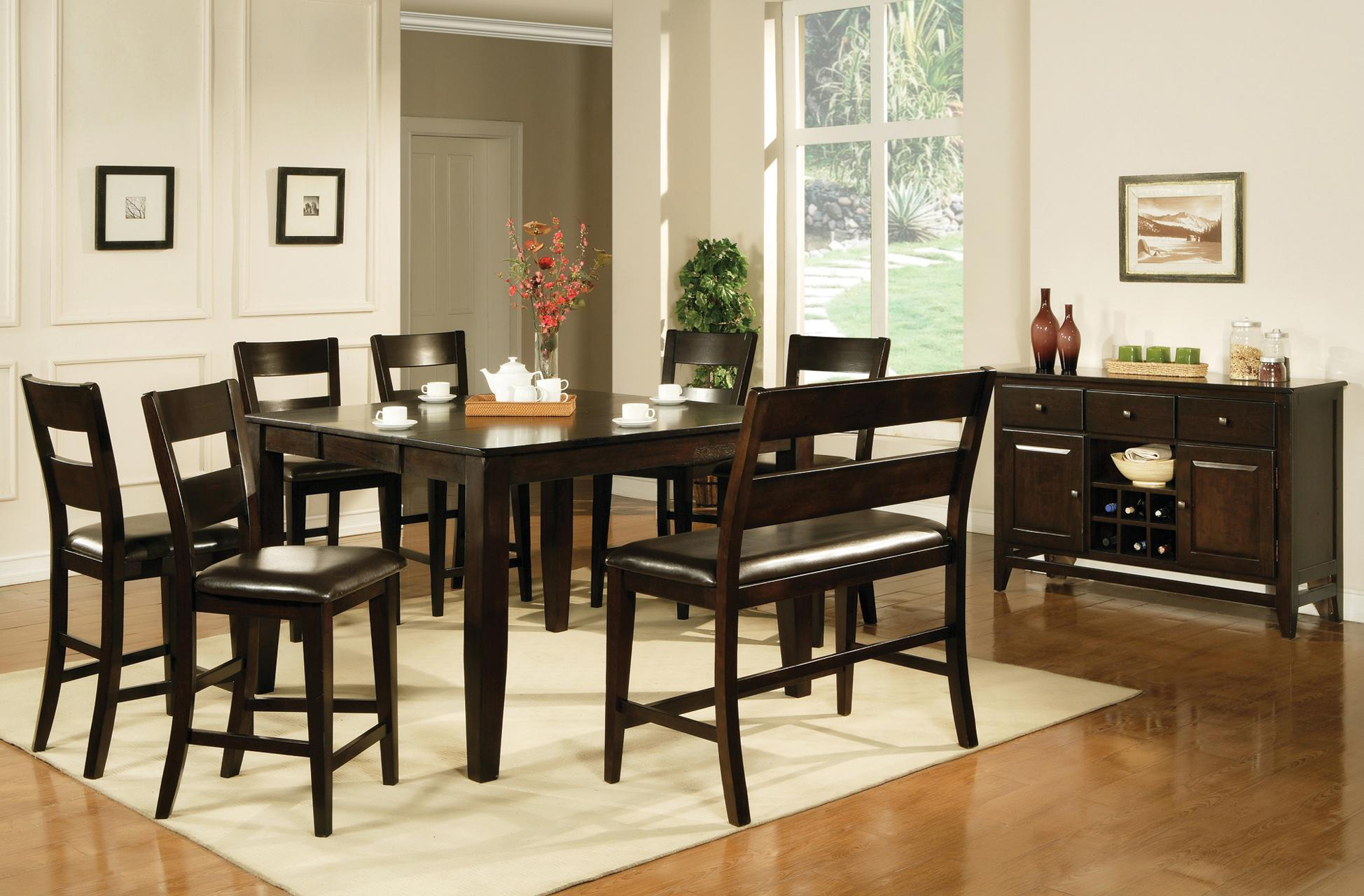 Steve silver victoria casual dining room group olinde 39 s for Casual dining room furniture