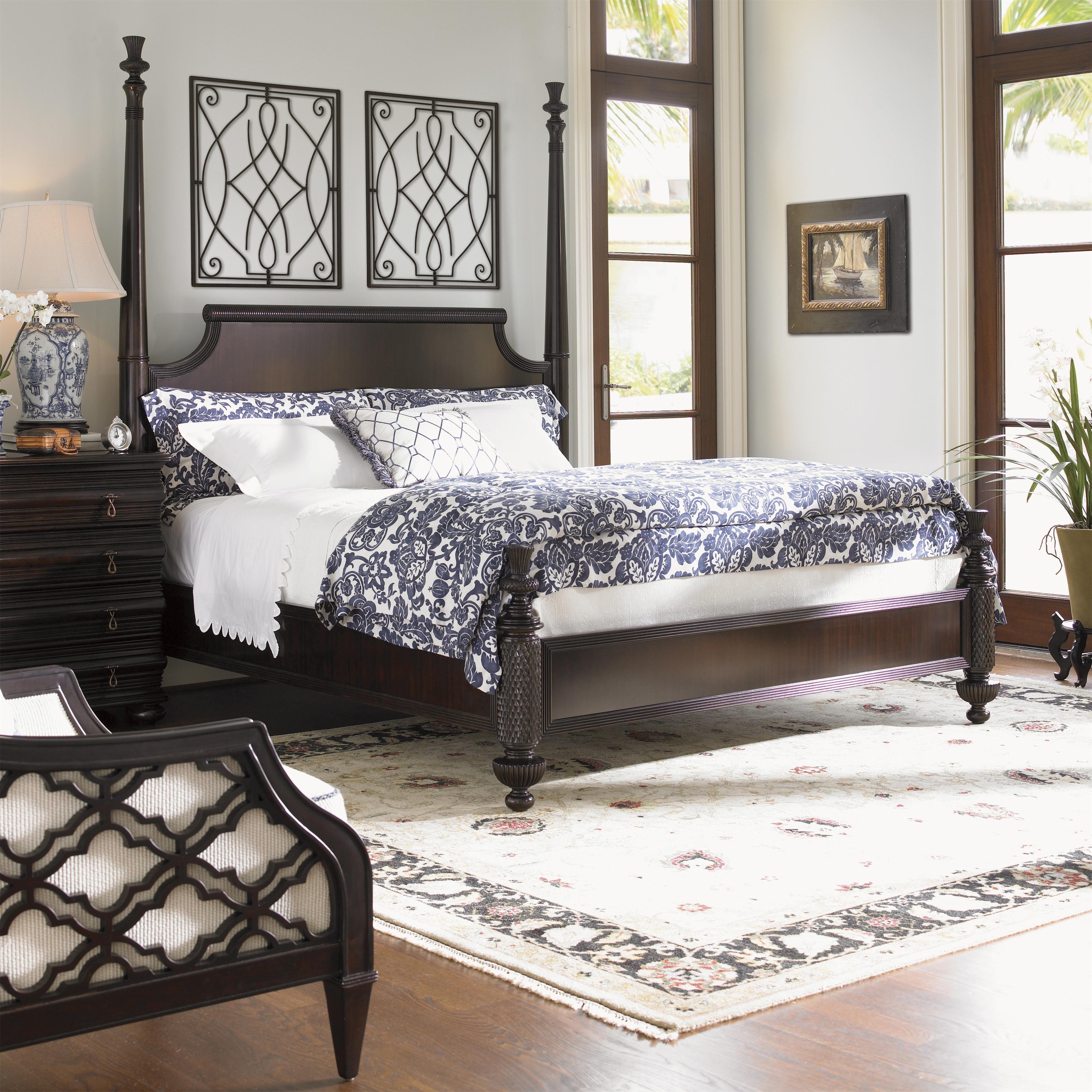 Tommy Bahama Home Royal Kahala King Bedroom Group Reeds Furniture Bedroom Groups