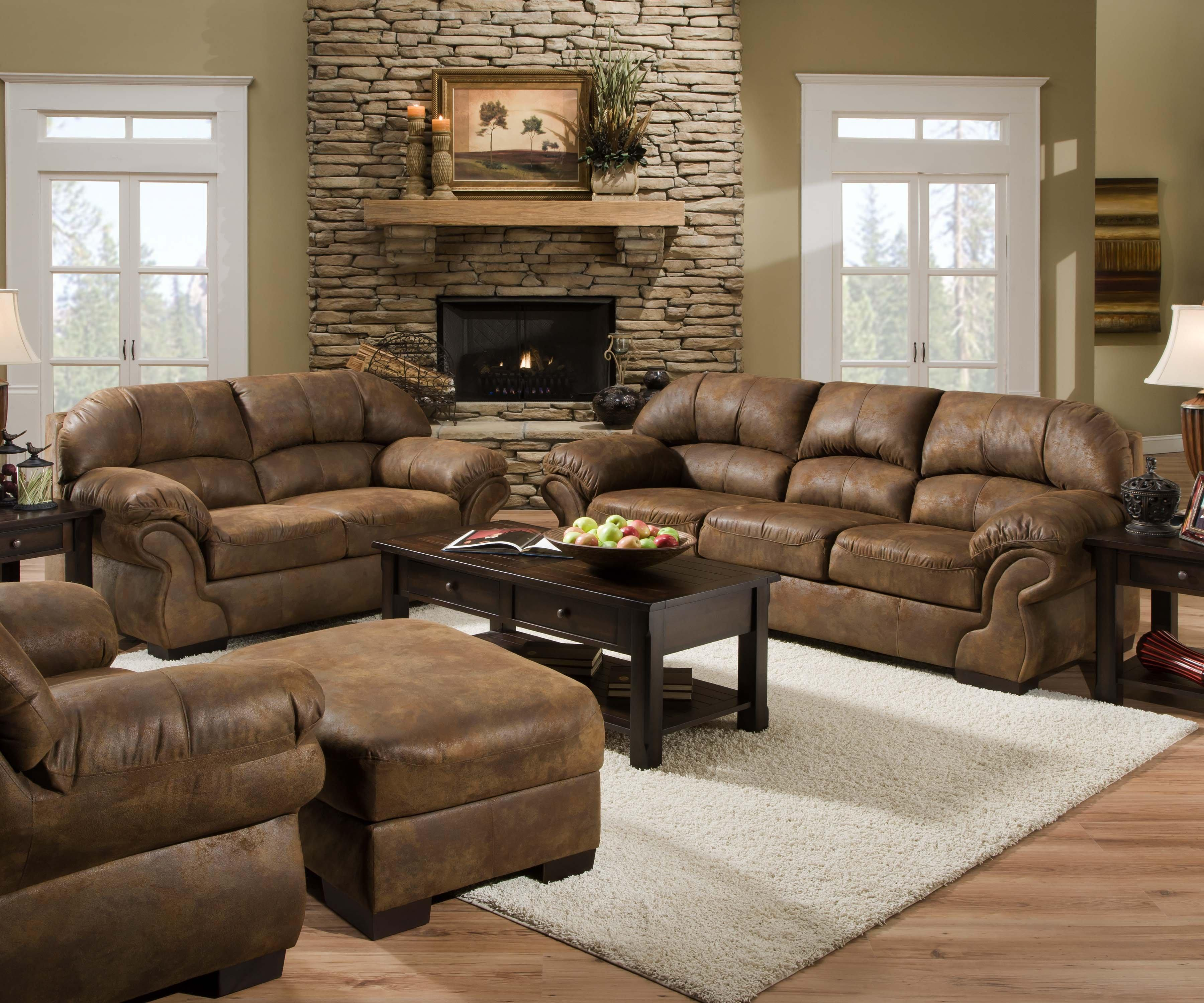 United furniture industries 6270 stationary living room for Living room furniture groups