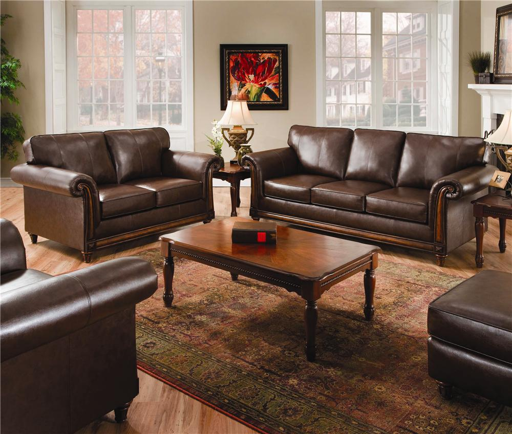United Furniture Industries 8001 Stationary Living Room Group Miskelly Furniture Upholstery