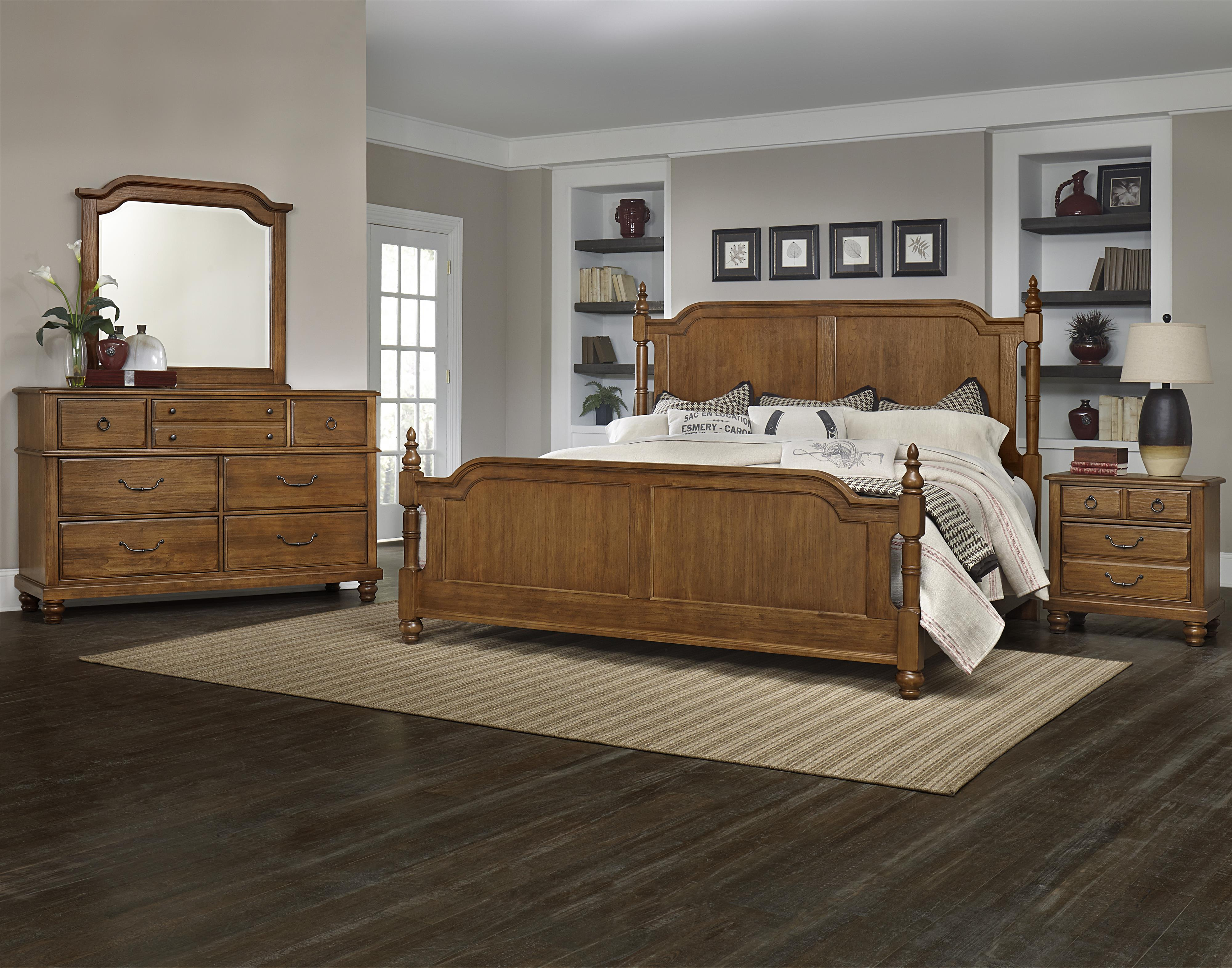 vaughan bassett arrendelle queen bedroom group dunk bright furniture bedroom group. Black Bedroom Furniture Sets. Home Design Ideas