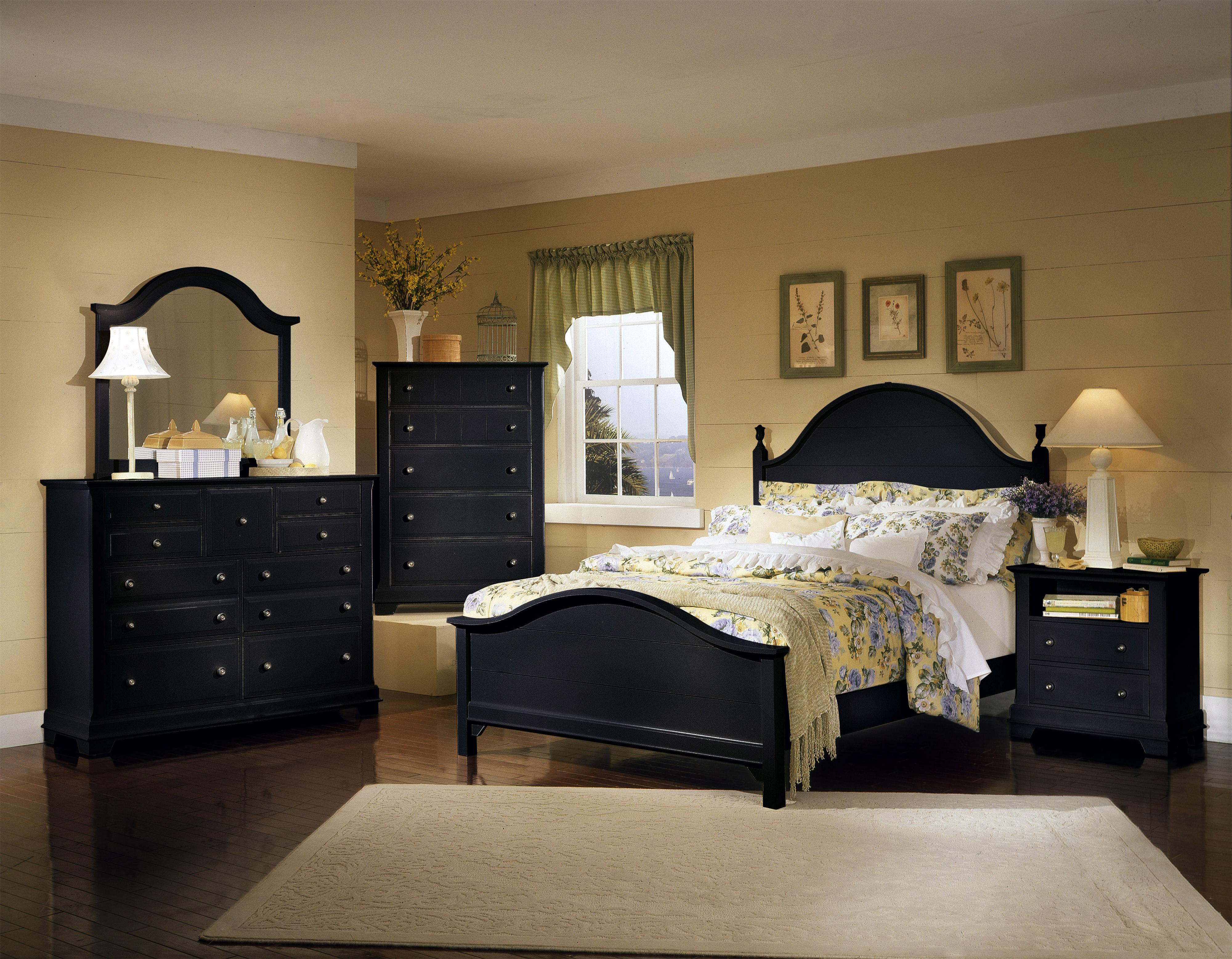 Vaughan Bassett Cottage Queen Bedroom Group Olinde 39 S Furniture Bedroom Groups