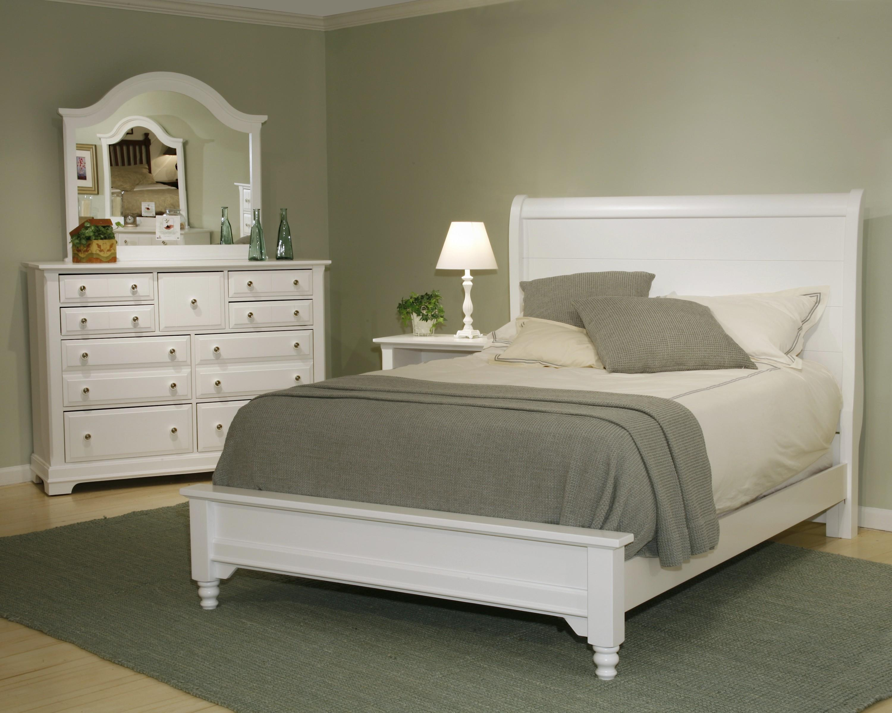 Vaughan Bassett Cottage Full Bedroom Group Olinde 39 S Furniture Bedroom Groups