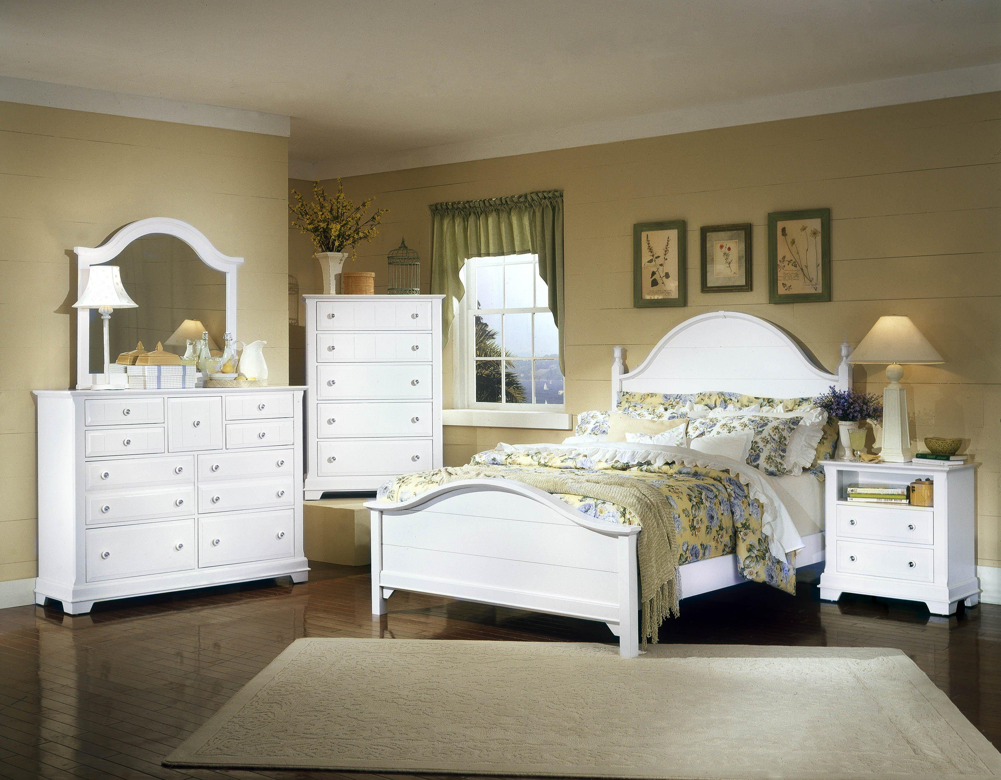 Vaughan Bassett Cottage California King Bedroom Group Dunk Bright Furniture Bedroom Groups
