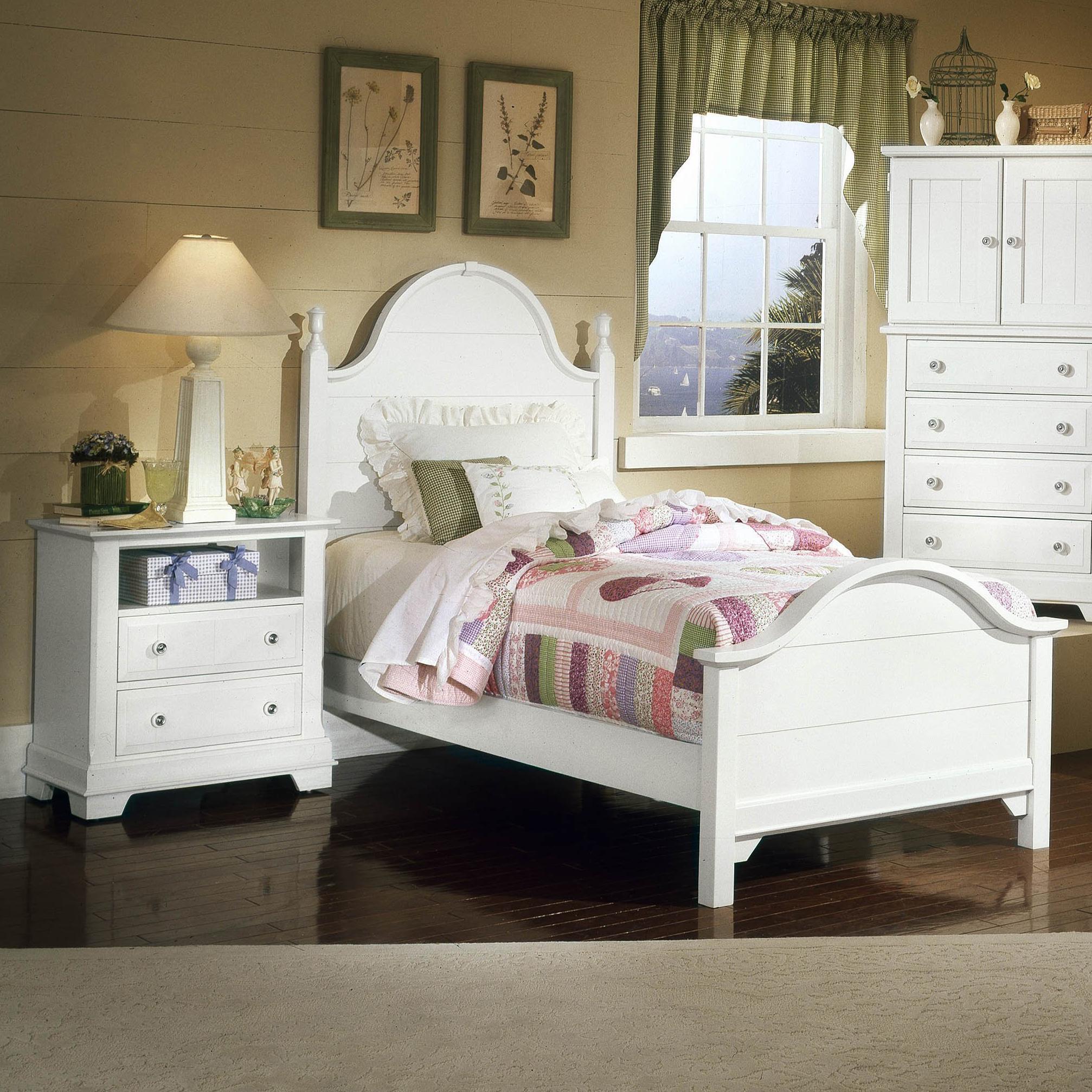 vaughan bassett cottage full bedroom group value city furniture bedroom groups. Black Bedroom Furniture Sets. Home Design Ideas