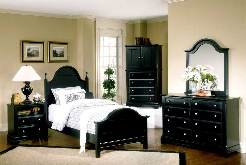 Vaughan bassett cottage full bedroom group knight for Bedroom groups