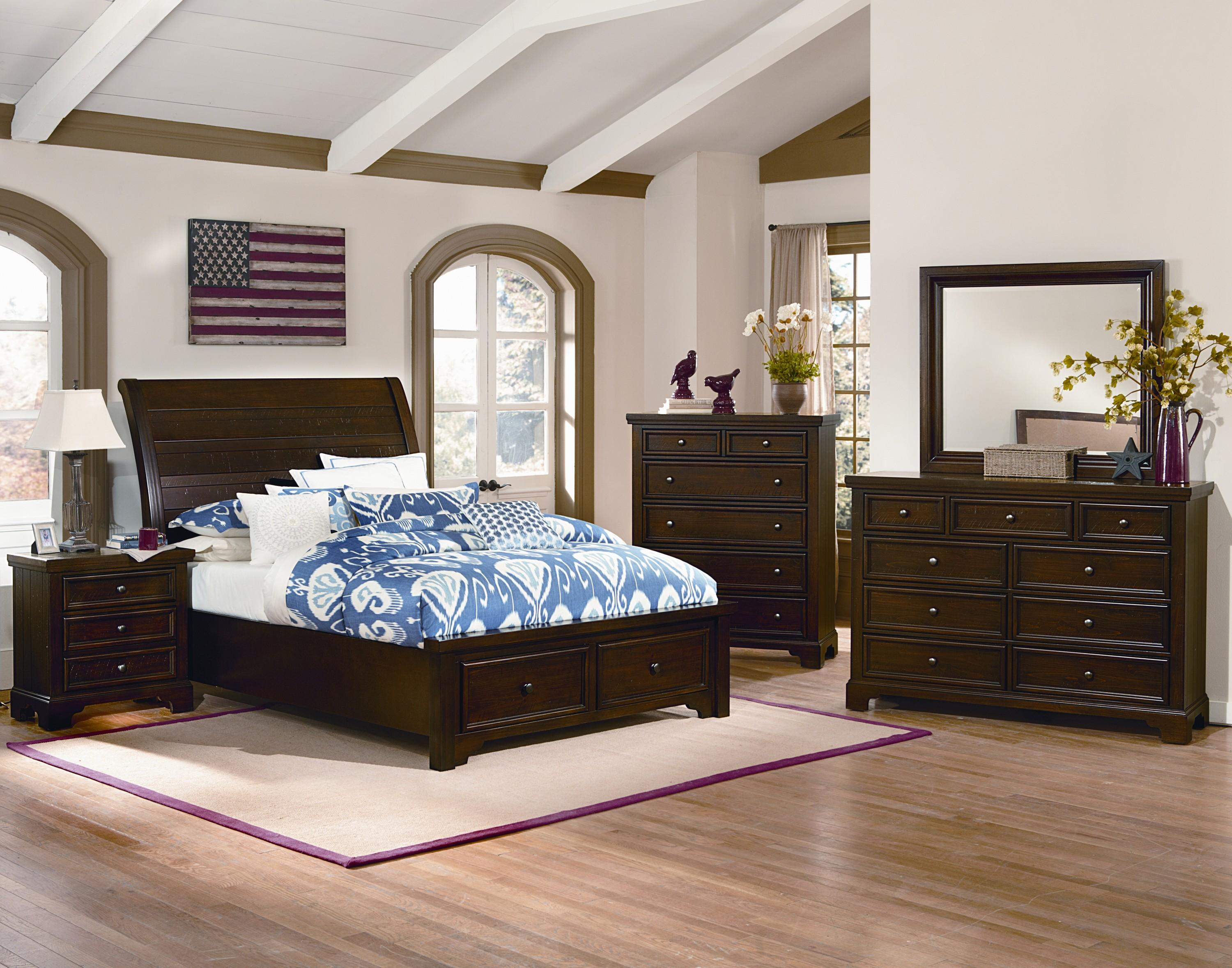 Vaughan Bassett Hanover Full Bedroom Group Olinde 39 S Furniture Bedroom Groups