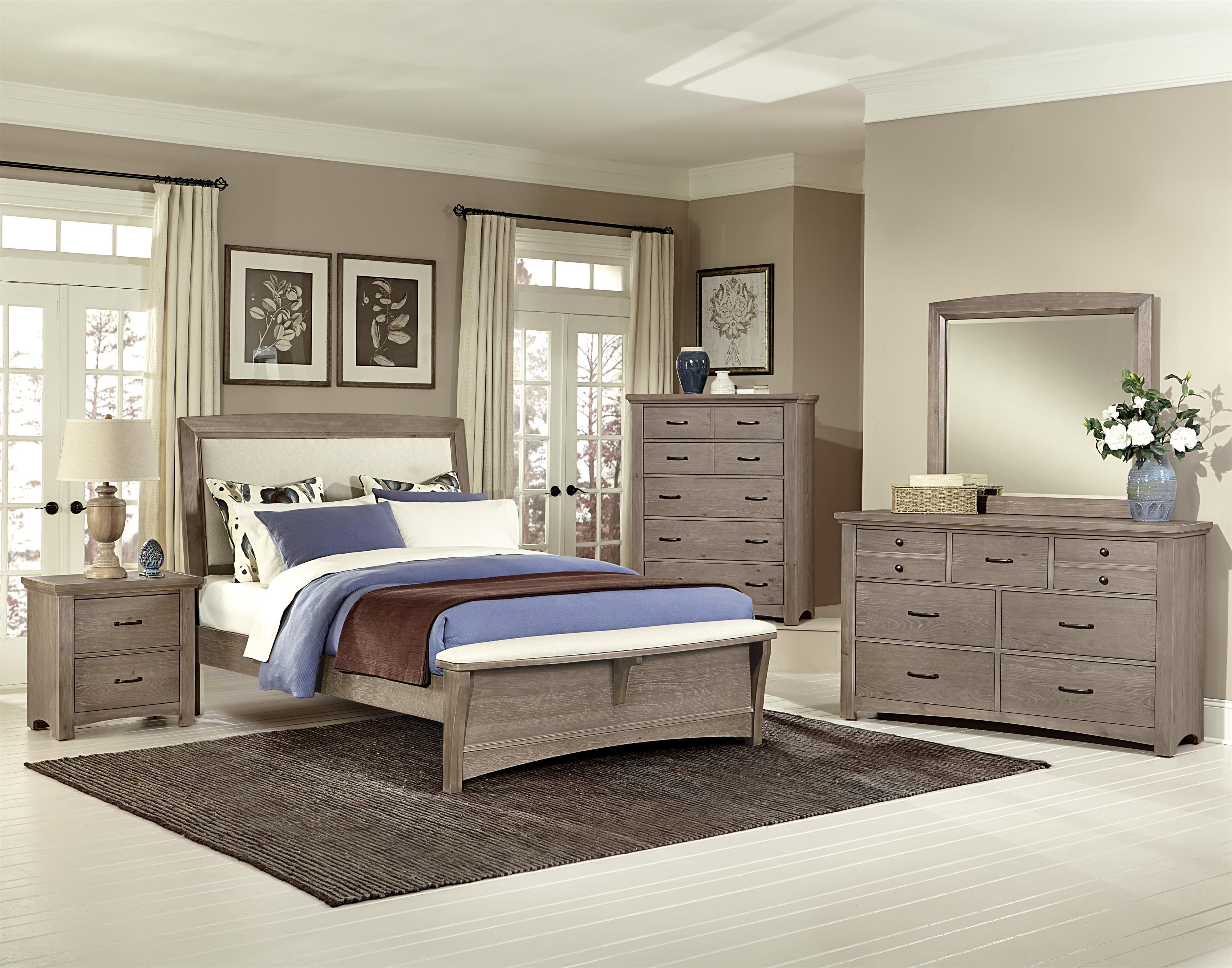 Vaughan Bassett Transitions Queen Bedroom Group Belfort Furniture Bedroom Groups