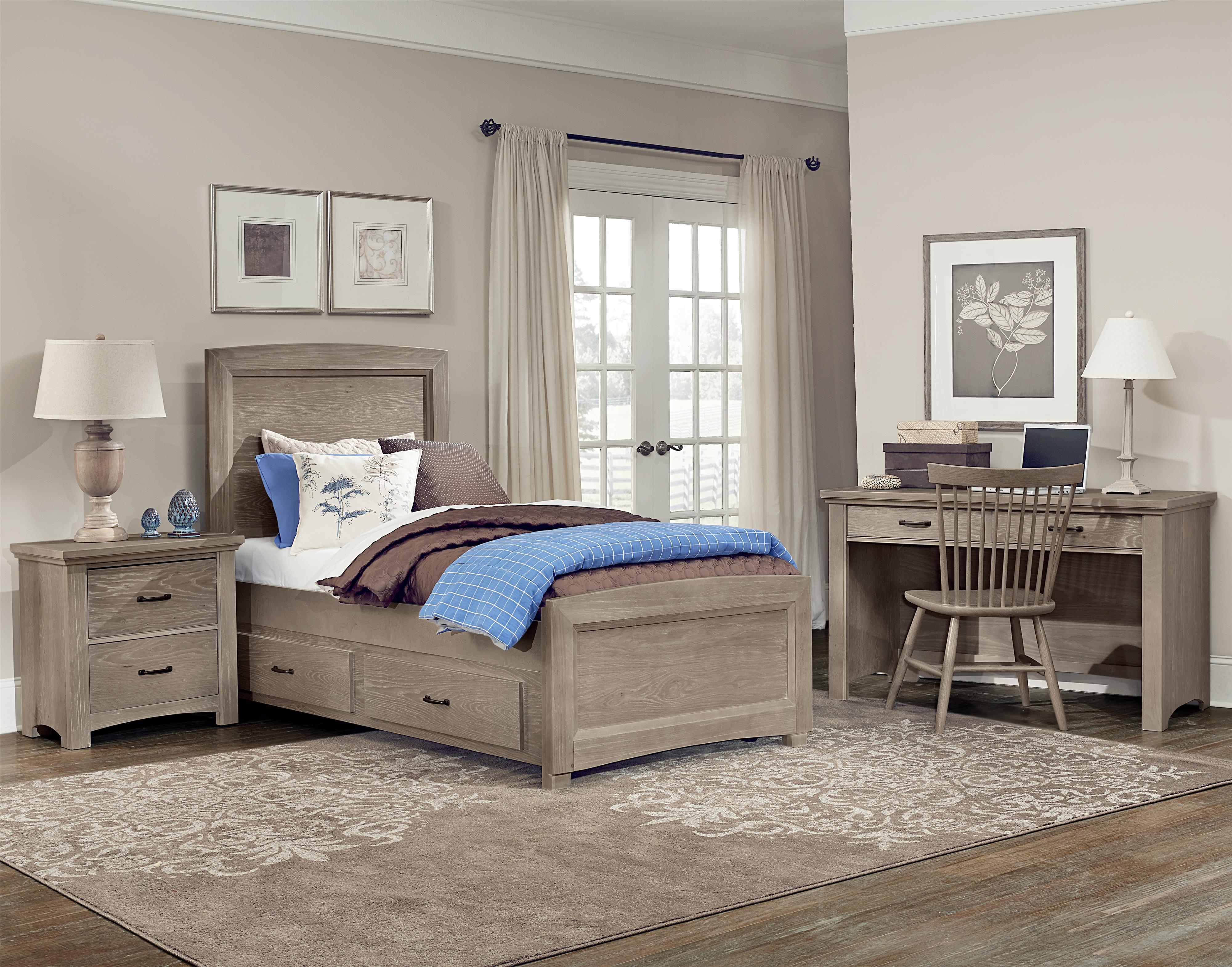 Vaughan Bassett Transitions Twin Bedroom Group Value City Furniture Bedroom Groups