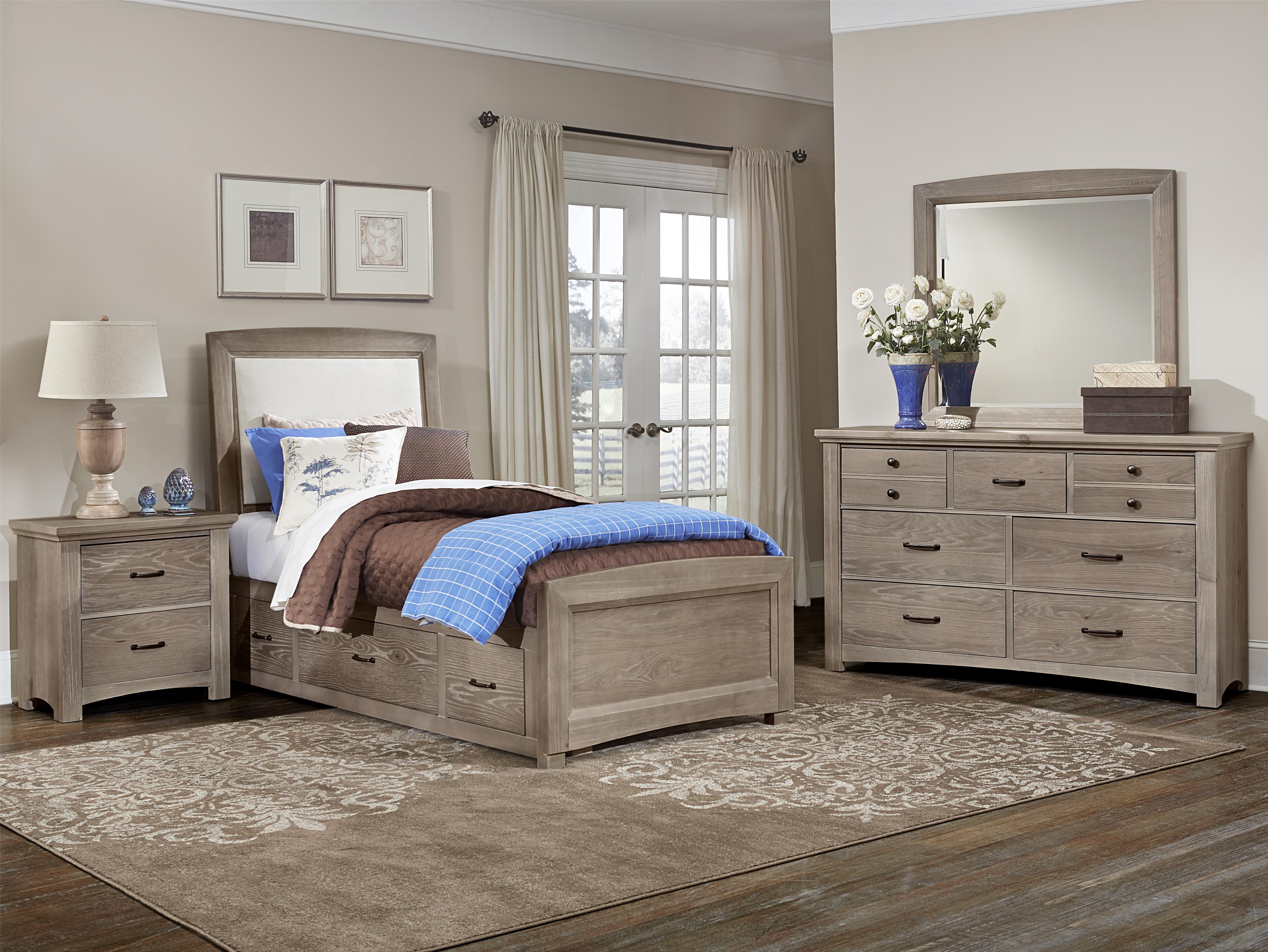 vaughan bassett transitions twin bedroom group olinde 39 s furniture bedroom groups. Black Bedroom Furniture Sets. Home Design Ideas