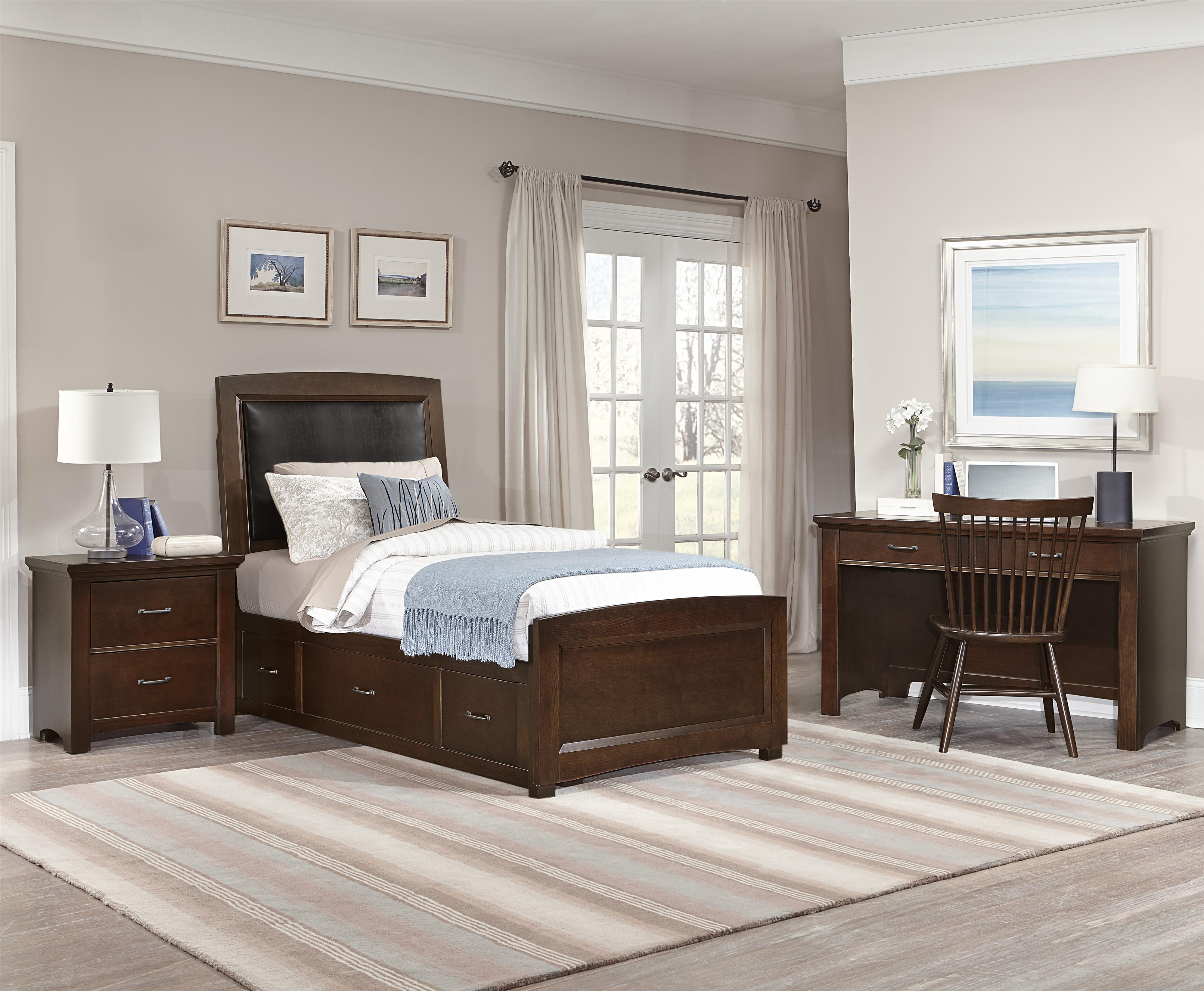 Vaughan Bassett Transitions Twin Bedroom Group Dunk Bright Furniture Bedroom Groups