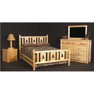 Log Furniture Rustic Log Poker Table Becker Furniture