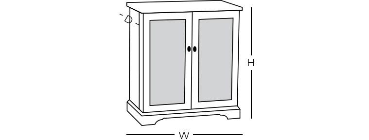 Dimensions - Bar Chest