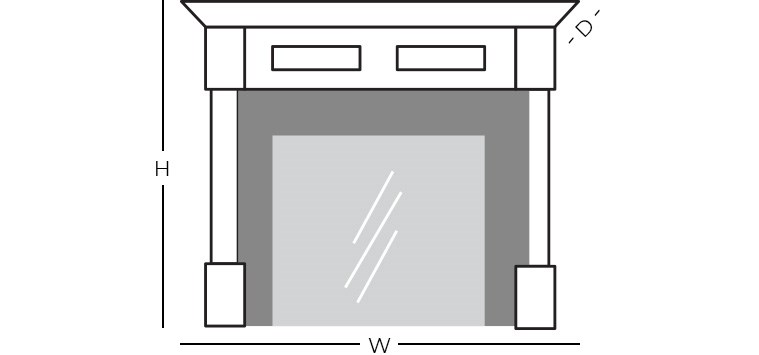 Dimensions - Fireplace