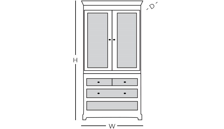 Dimensions - Armoire