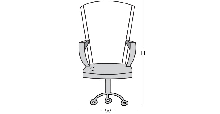 Dimensions - Executive Chair
