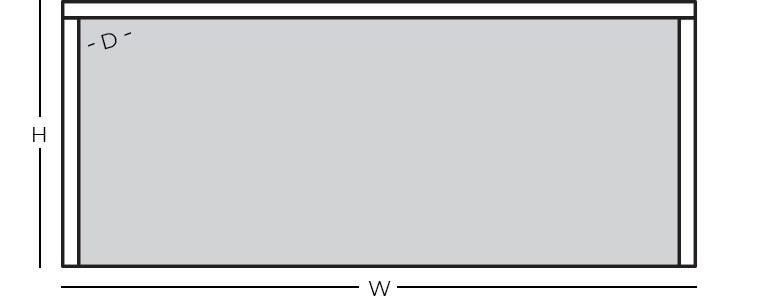 Dimensions - Shell Desk