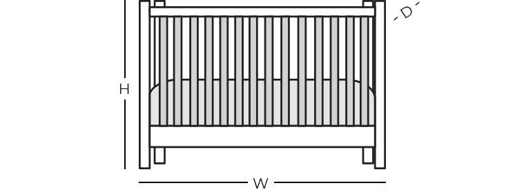 Dimensions - Crib
