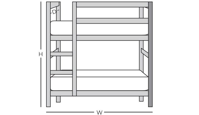 Dimensions - Bunk Bed