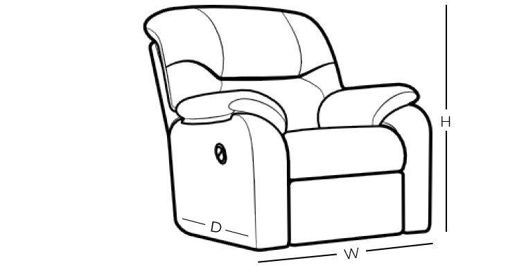 Dimensions - Recliner