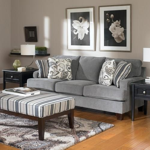Transitional Yvette Steel Sofa By Ashley Furniture Sku 000007790038