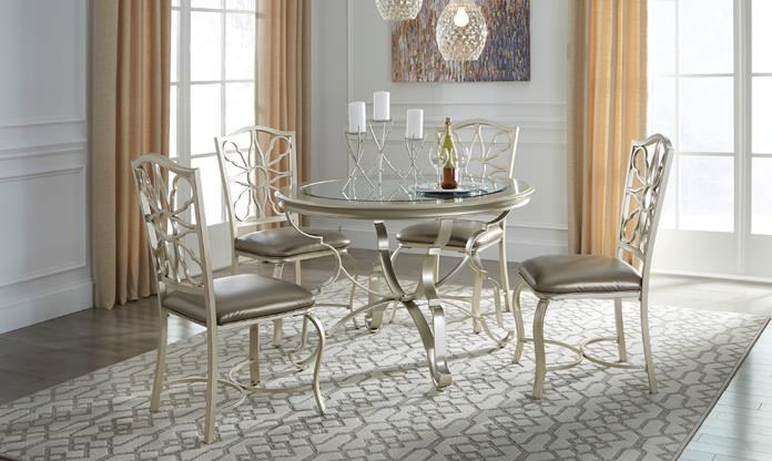 Glam Style Furniture At Boulevard Home Furnishings