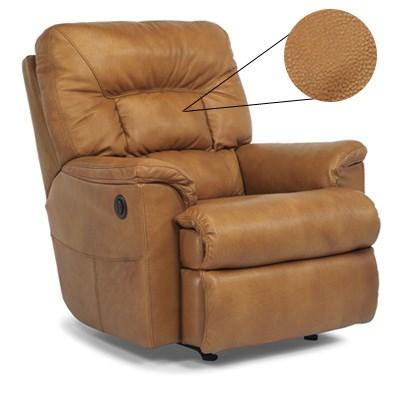 flexsteel leather