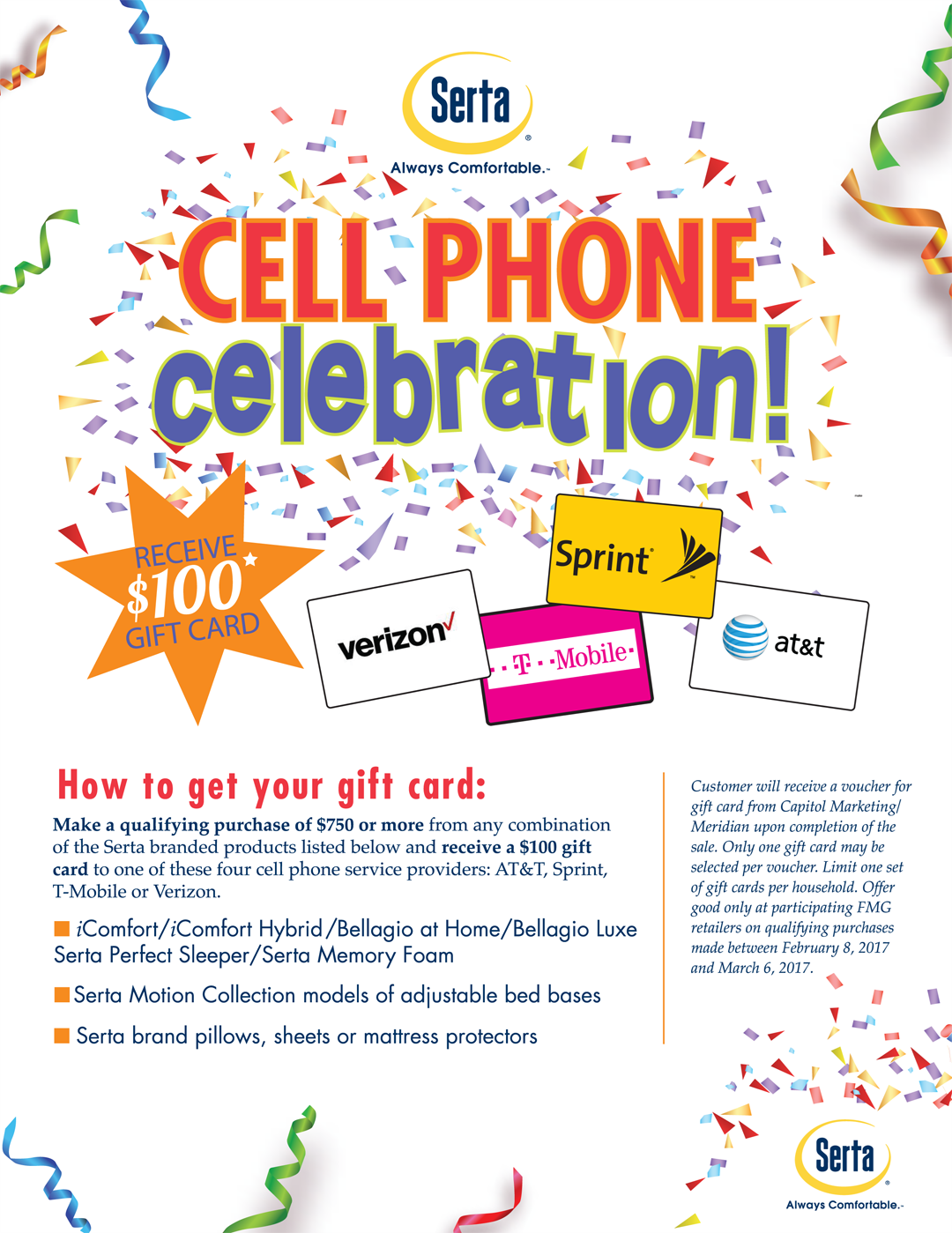 cell phone promo. see store for details