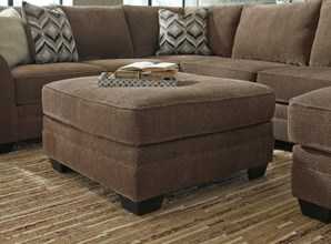 Corner Sectional Sofa with Ottoman