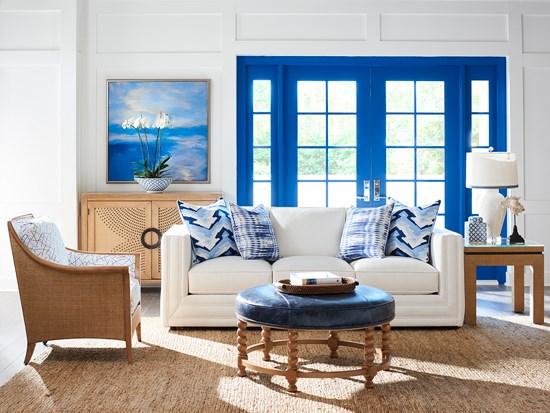 Barclay coastal living room design