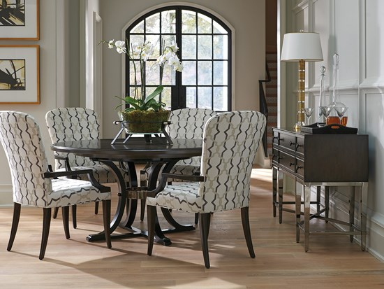Barclay glamour dining room design