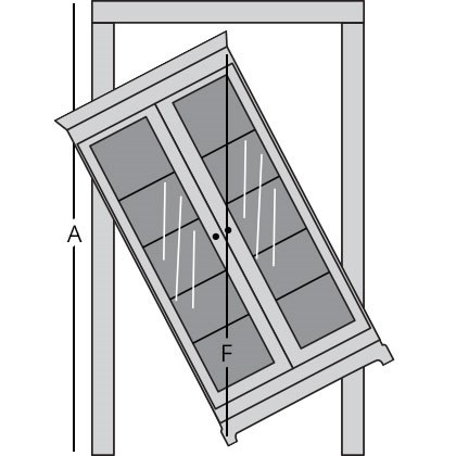 bookcase room diagram