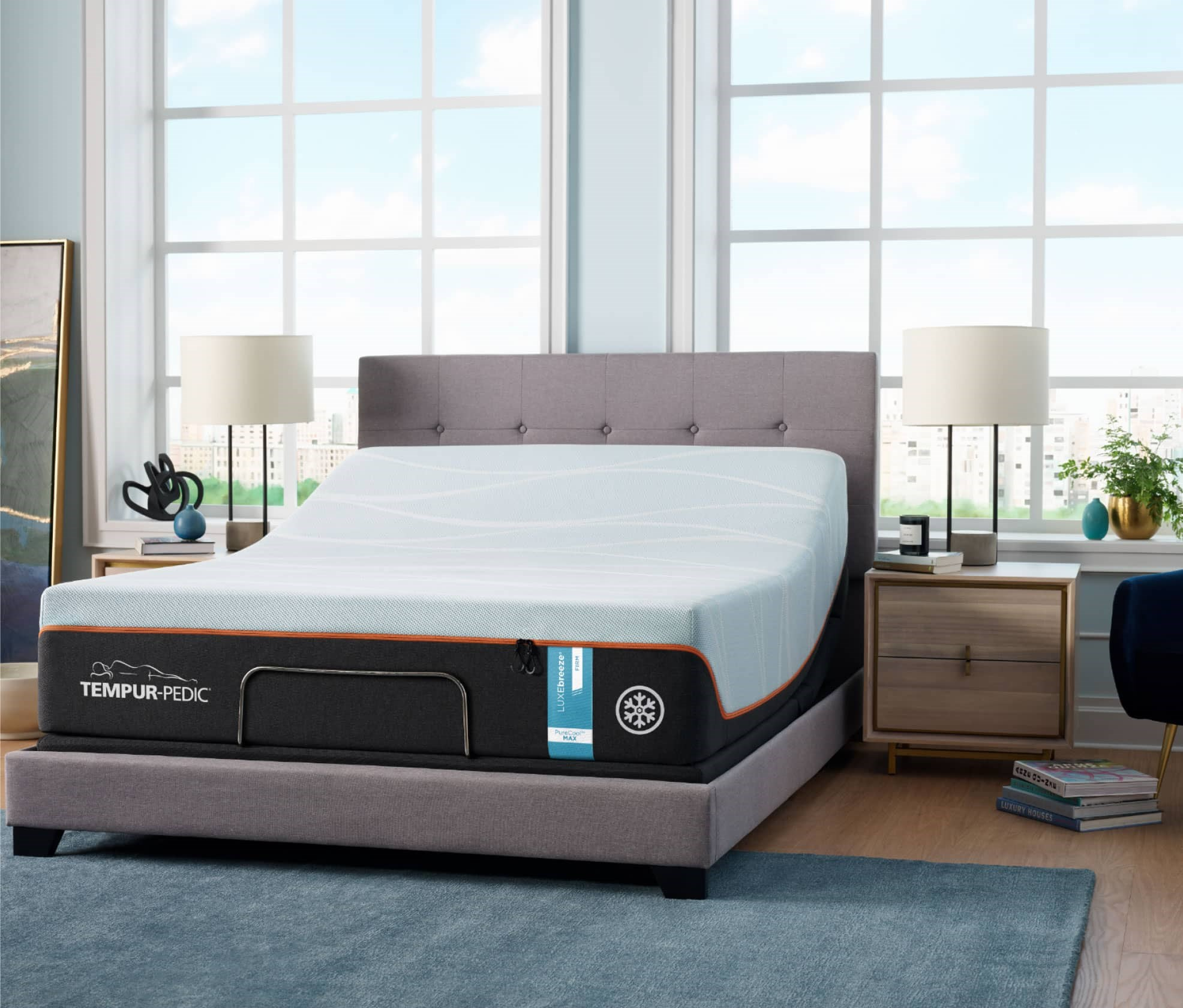 Tempur LuxeBreeze Series